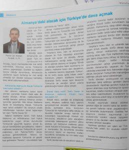 Almanya'daki Alacak İçin Türkiye'de Dava Açmak - Murat Can Atakan