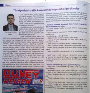 Türkiye'deki Trafik Kazalarında Yapılması Gerekenler - Murat Can Atakan