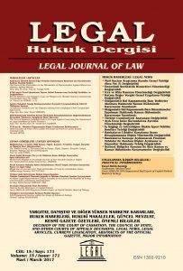 6750 sayılı Ticari İşlemlerde Taşınır Rehni Kanunu'nun Getirdiği Yenilikler ve Değişiklikler - Murat Can Atakan