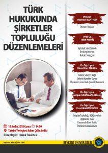 Şirketler Topluluğu Yrd.Doç.Dr.Murat Can Atakan